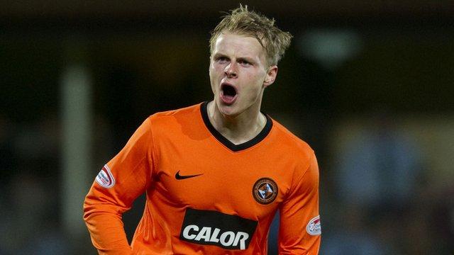 Dundee United winger Gary Mackay-Steven