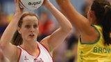 England wing-defence Sara Bayman
