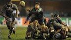 Cardiff Blues scrum-half Lloyd Williams