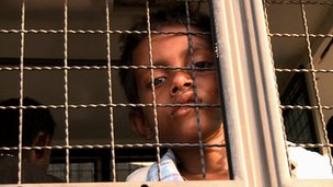 Newly-arrived Rohingya boy in Phuket