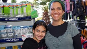 Deena Singer and daughter