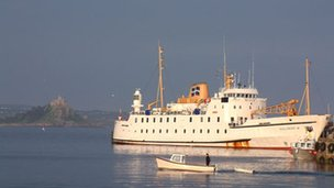The Scillonian Ferry