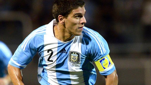Lisandro Magallan of Argentina