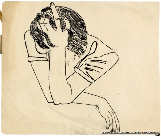 BBC News - In Pictures Andy Warhol - Early Drawings