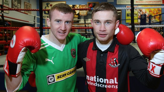 Paddy Barnes and Carl Frampton