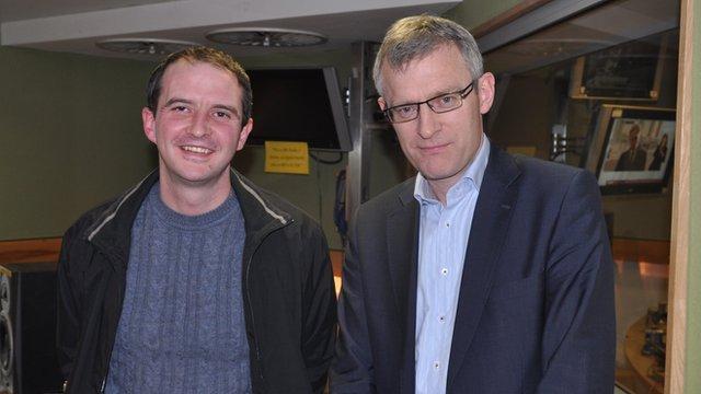 Darren Wood with Jeremy Vine