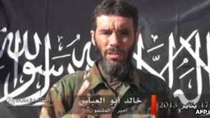 Mokhtar Belmokhtar (image from video)