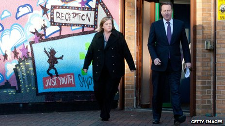 Louise Casey and David Cameron