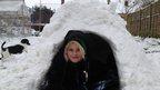 Luke's igloo