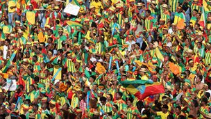 Ethiopia fans