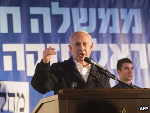 Benjamin Netanyahu (13 January 2013)