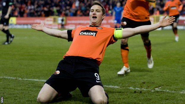 Dundee United&#039;s Jon Daly
