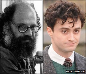 Allen Ginsberg and Daniel Radcliffe