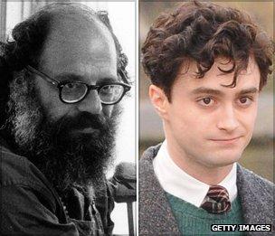 Allen Ginsberg and Daniel Radcliffe