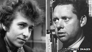 Bob Dylan and Dylan Thomas