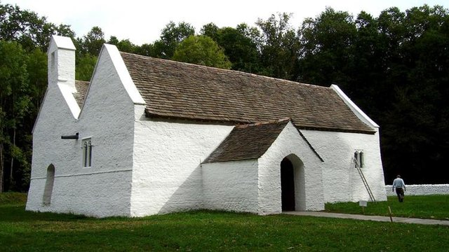 St Teilo's Church at St Fagans