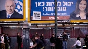 Netanyahu seeks re-election as Israel goes to polls