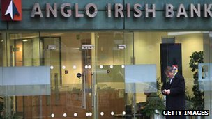 IBRC formerly Anglo Irish Bank
