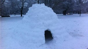 Igloo on the Stray, Harrogate