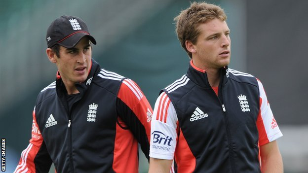 Craig Kieswetter and Jos Buttler