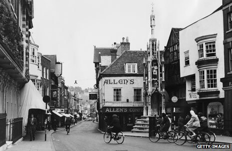 Butter Cross in Winchester, 1940s
