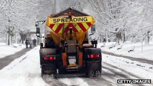 Gritter in Bath