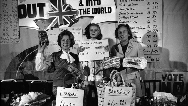 Out campaign - 1975 referendum