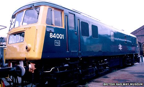 Electric Locomotive, British Railways Class 84