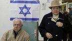 Voting in Ashkelon, Israel. 22 Jan 2013