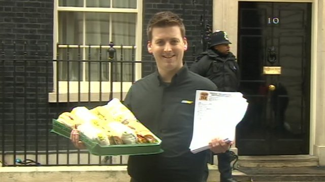 Subway&#039;s David Cameron in Downing Street