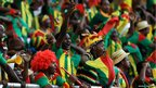 Ethiopia supporters 