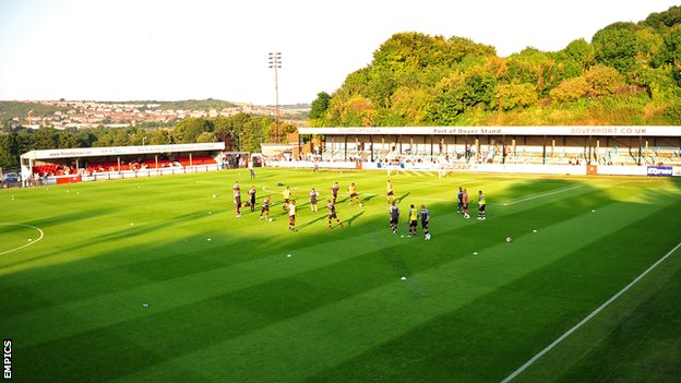 Dover Athletic's Crabble ground