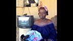 Binta Diarra who fled Diabaly in Mali