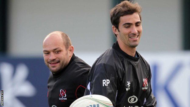 Rory Best and Ruan Pienaar