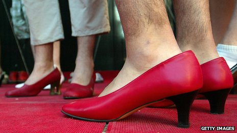 why did men stop wearing high heels bbc news. Black Bedroom Furniture Sets. Home Design Ideas