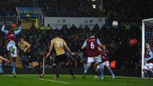 James Hanson scores for Bradford
