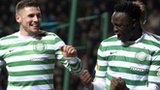 Gary Hooper and Victor Wanyama