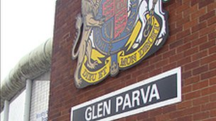 Glen Parva sign