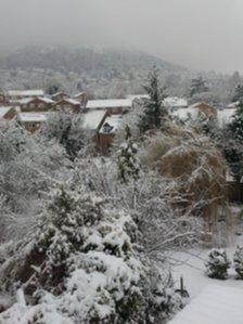 Malvern snow