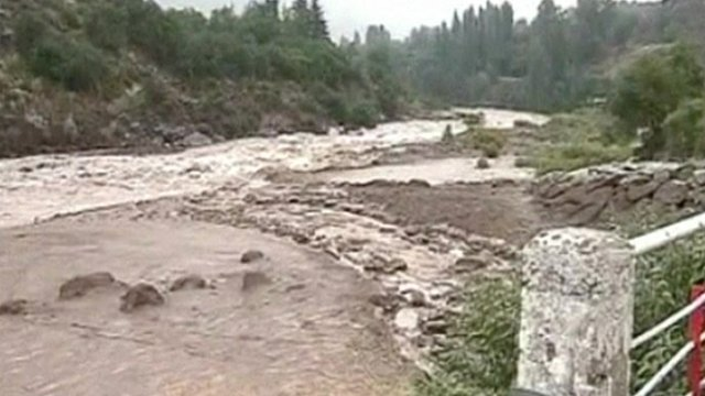 Mud from landslides blocked purification plants