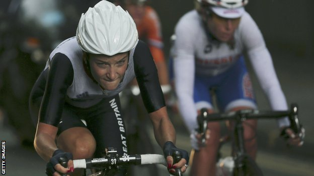 Olympic silver-medallist Lizzie Armitstead