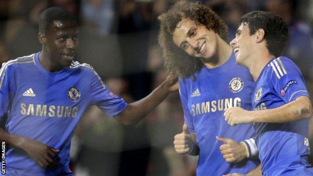 Ramires, David Luiz and Oscar