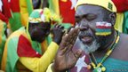 Togo supporters 