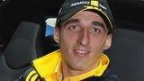 Robert Kubica before his rally crash