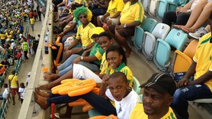 South Africa fans