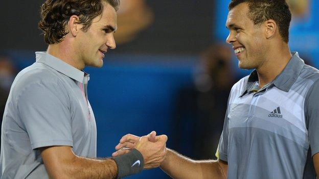 Roger Federer & Jo-Wilfried Tsonga