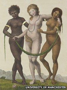 Etching by William Blake