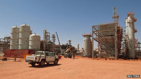Tigantourine gas plant