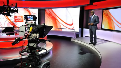 BBC World News studio