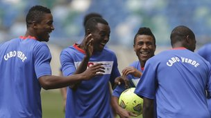 Cape Verde training